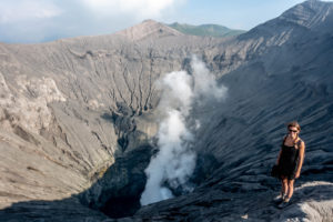 Indonesia: Mt. Bromo – digging in the dust