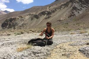 Miriam filtering in Bartang Valley (Tajikistan)