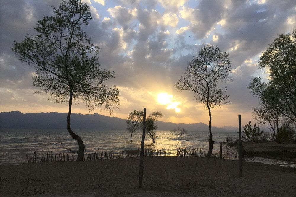 Sunset at Skadar Lake
