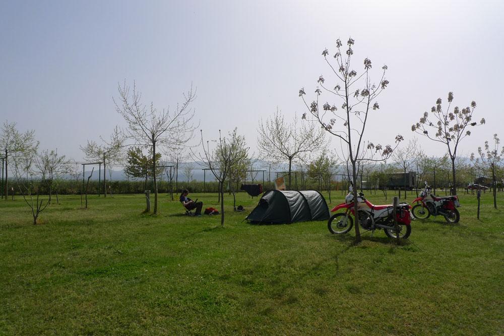 Campsite near Shkodra