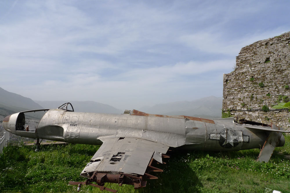 Old military plane