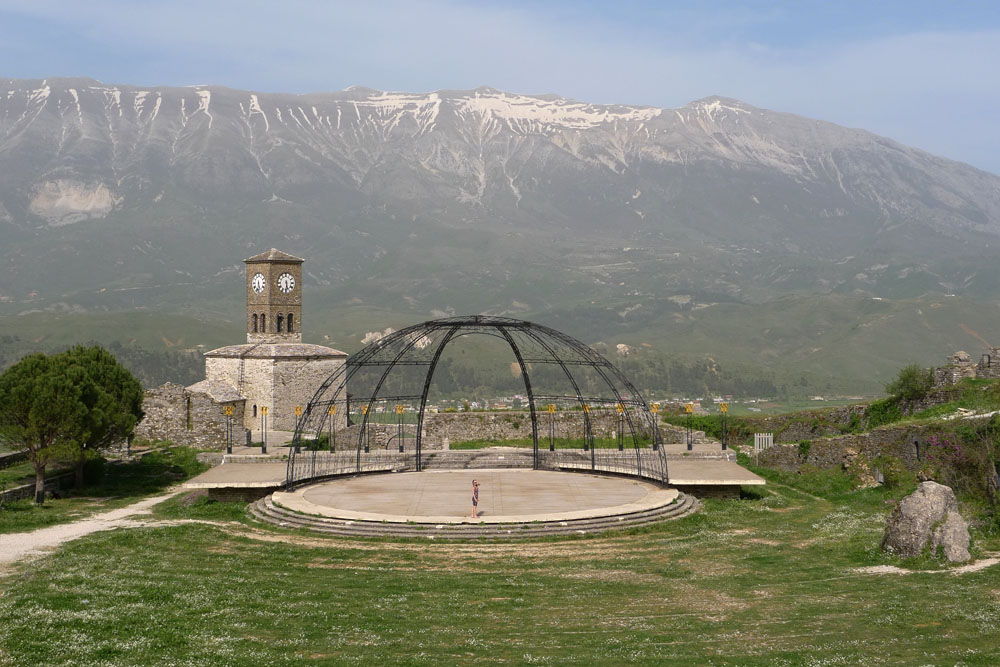 Open Air stage in the castle
