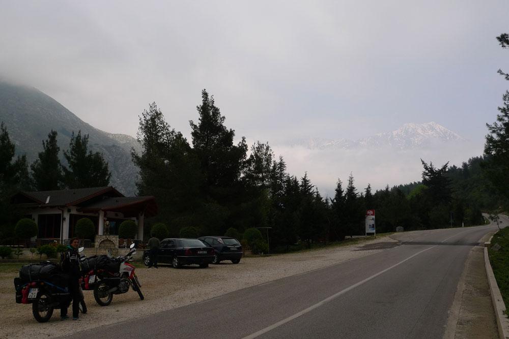 High mountain in Liogara NP