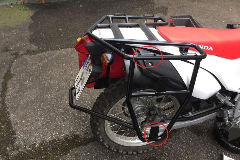 CRF250L rack side