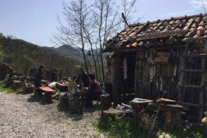 Andi's cosy hut