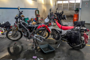 Read more about the article Bike mods for the big trip