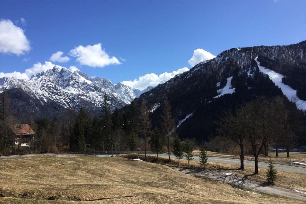 Sunshine in Slovenia