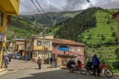 Small village near the black sea