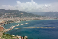 View from the fortress in Alanya