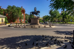 Roundabout in Astrakhan