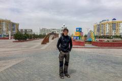 Atyrau - cold and windy