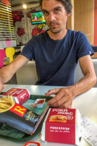 Fast food in Grozny