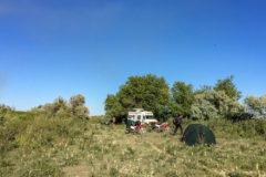 Nice camp near Baikonur