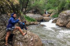Canyoning near Shymkent