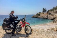 Turquoise sea close to Antalya