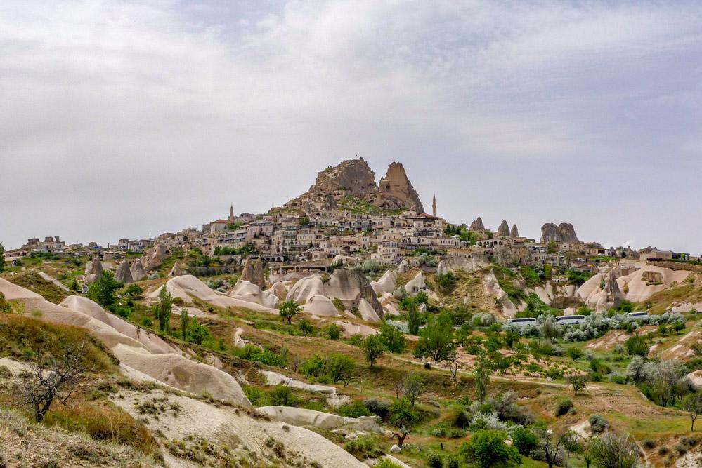 Rock fortress of Uchisar