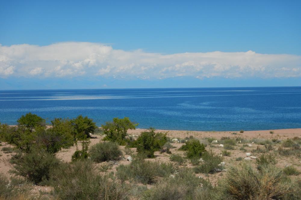 Kyrgyz Issyk-Kul Lake