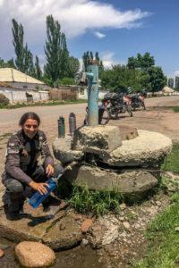 Miri fetching drinking water