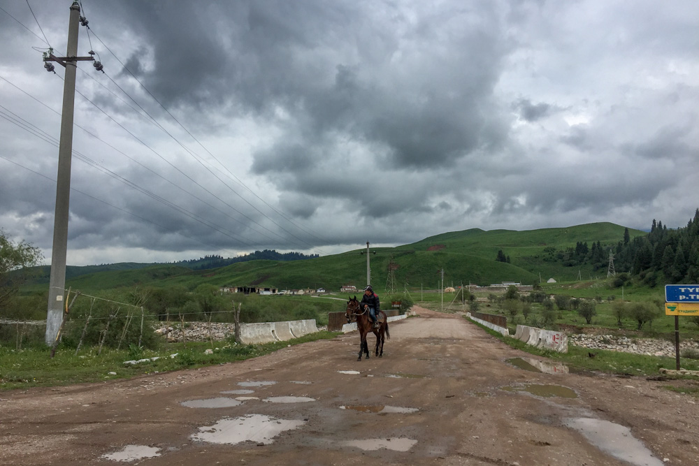 Everybody can ride in Kyrgyzstan