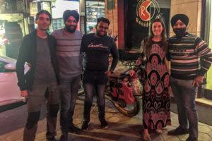 Bikers in Amritsar