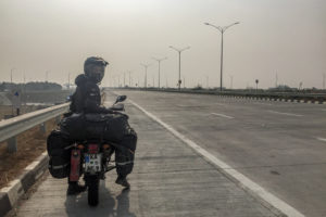 No vehicles on the Expressway