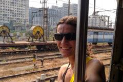 Trains in India are fun!