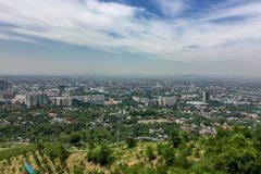 Almaty is very green