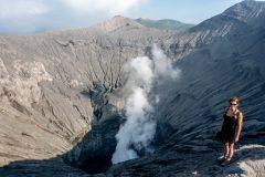 Mt. Bromo is still active
