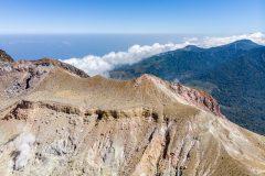 Crater rim of Mt. Egon