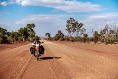 Landscape changes close to Northern Territory