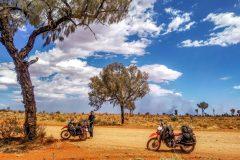 Beautiful scenery in the australian outback