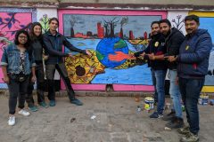 Street art in Patna