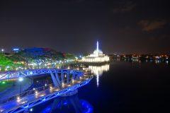 Kuching in night time