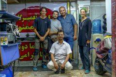Team Mahak Ciklet in Tehran