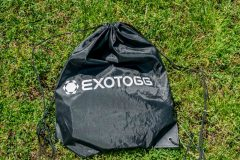 Exotogg vest in packing bag