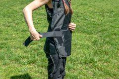 Exotogg vest a bit too big for Miri