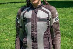 Miri with Exotogg vest and riding Jacket front