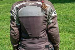 Miri with Exotogg vest and riding Jacket - a bit too long