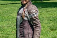 Miri with Exotogg vest and riding Jacket side