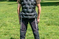 Exotogg vest regular/regular inflated on Tobi front