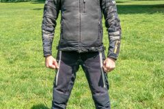 Tobi with Exotogg vest and riding Jacket front