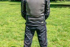 Tobi with Exotogg vest and riding Jacket back