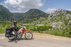 Mountains north of Alanya