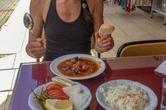 Food in Turkey is fantastic