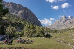 Incredible camping spot near Alaudinkul