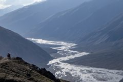 The upper Bartang river with low water