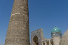 Giant minaret in Bukhara
