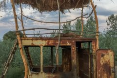 Cool chillout hut