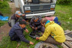 Repair the oil sump