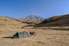 Camping at Mt. Damavand